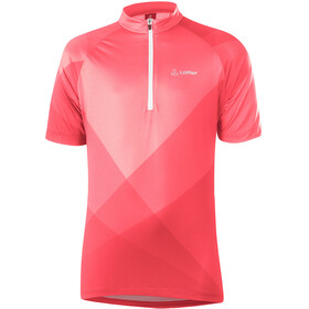 Löffler Half-Zip Bike Jersey Kids, sunrise